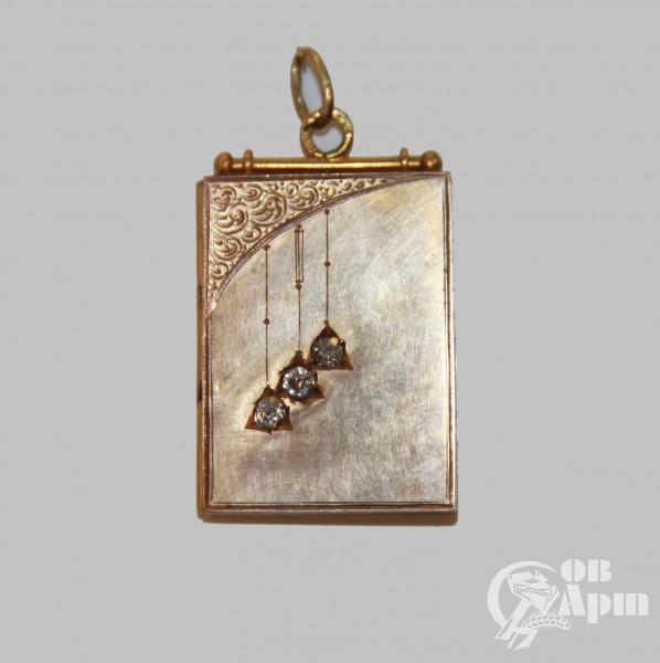 Медальон с бриллиантами