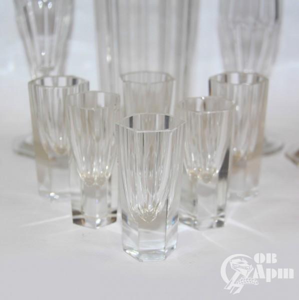 Набор из графина, стаканов и стопок