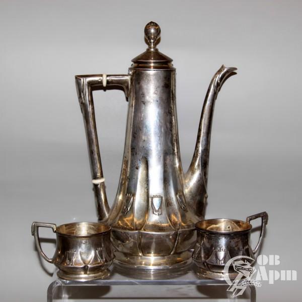 Набор кофейный в стиле Ар Деко