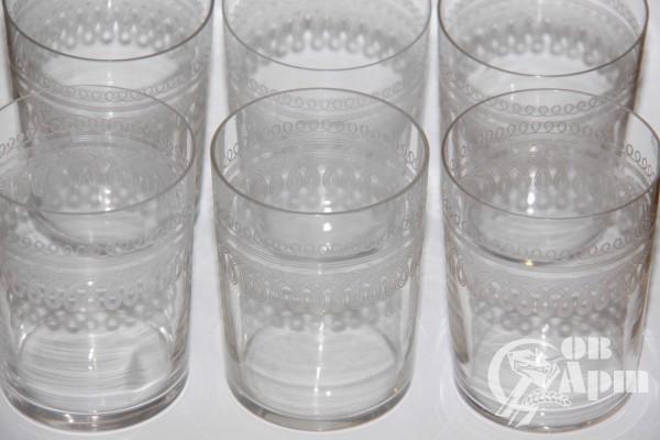 Набор стаканов с орнаментом