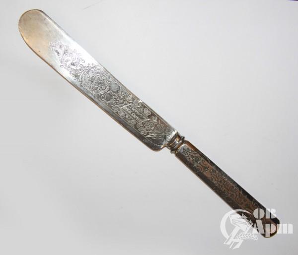 Нож с охотничьим сюжетом