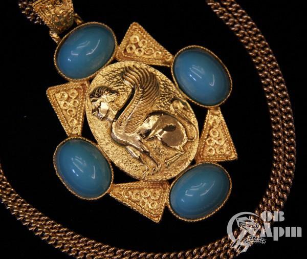 Ожерелье с изображением Сфинкса  DONALD STANNARD
