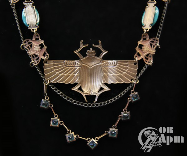 """Ожерелье """"Скарабеи"""""""