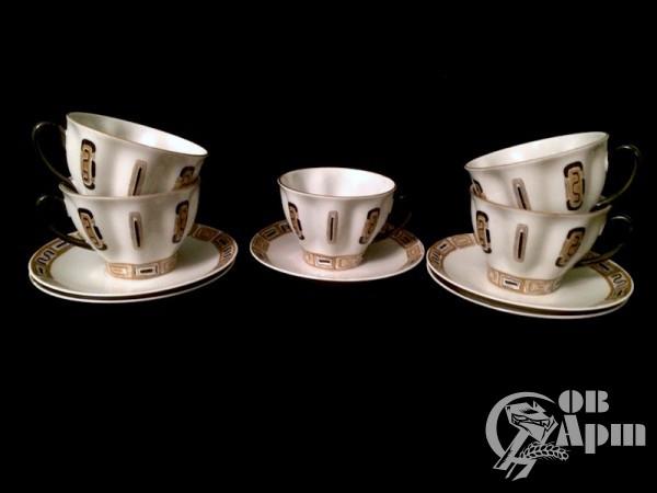"""Пары чайные  """"Кофе"""" 5 штук"""