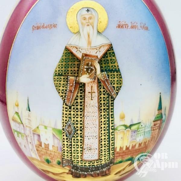 Пасхальное яйцо «Святитель Алексий Московский»