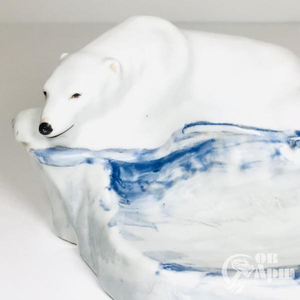 """Пепельница """"Белый медведь"""""""