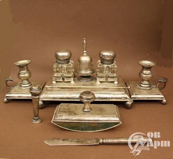 Письменный набор, серебро