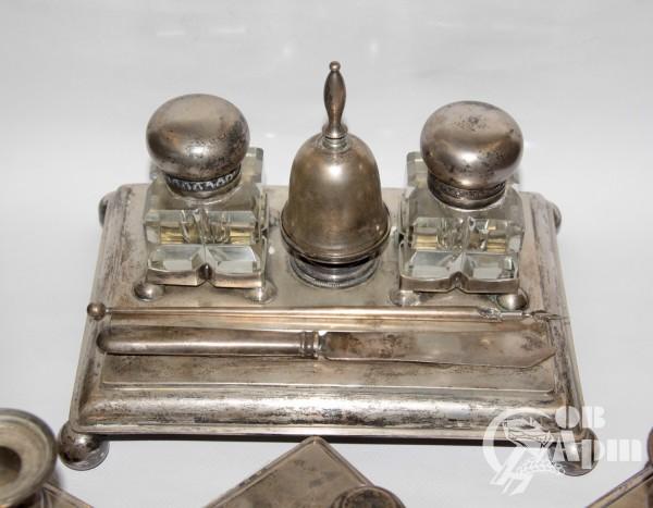 Письменный серебряный набор