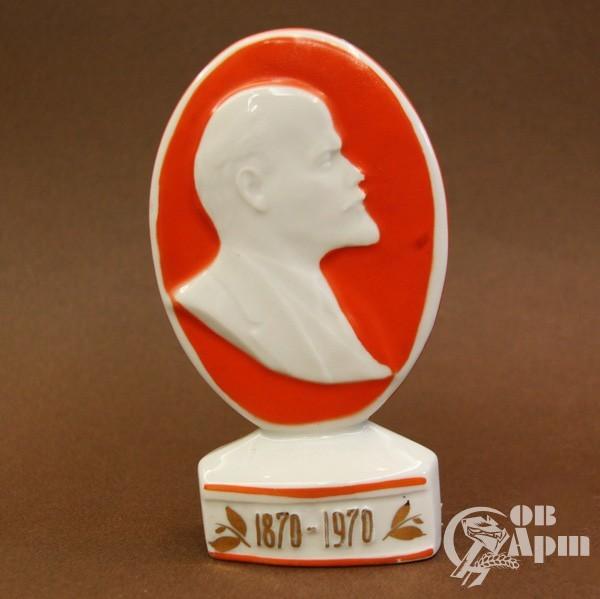 """Плакетка """"В.И. Ленин. К столетию со дня рождения"""""""
