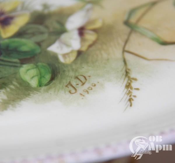 """Подставка для торта """"Цветы"""""""