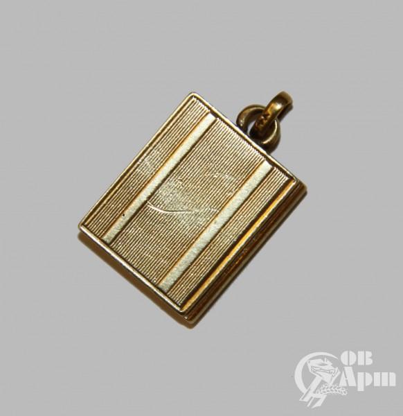 Подвеска-медальон в виде книги