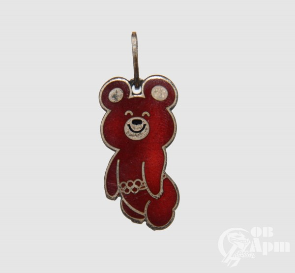 "Подвеска ""Олимпийский медведь"""