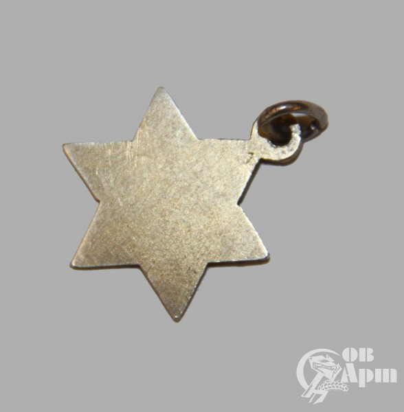 Подвеска в виде звезды Давида