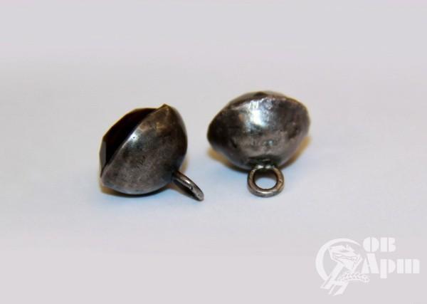 Пуговицы с раух-топазом