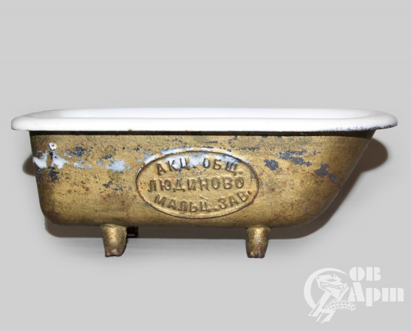 Рекламная ванная Мальцовского завода