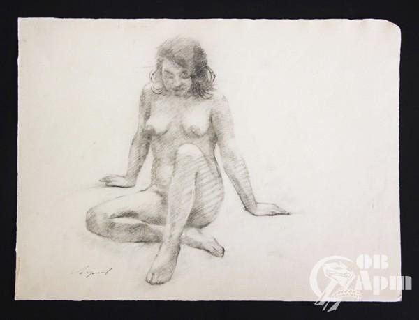 """Рисунок из серии """"Ню"""" №2"""