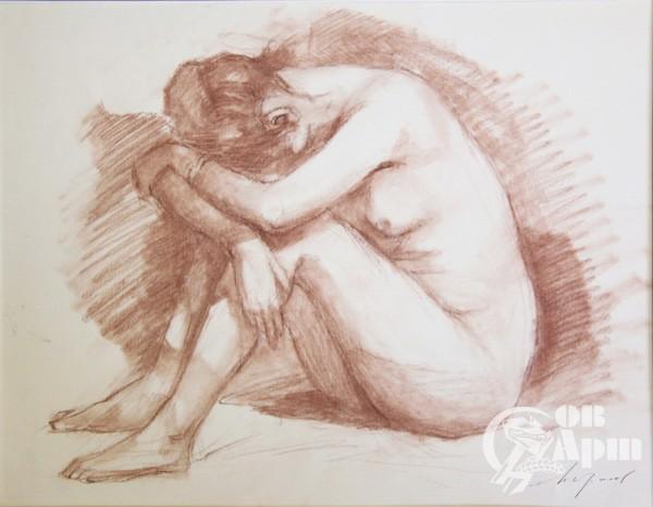 """Рисунок из серии """"Ню"""" №3"""