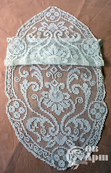 Салфетка филейное кружево в стиле кантри