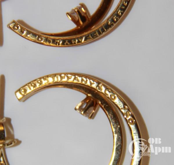 Серьги с бриллиантами Tiffany