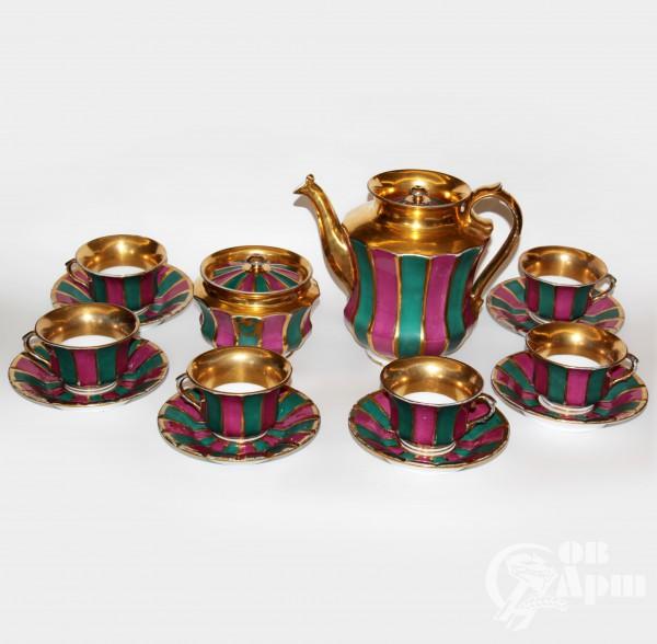 Сервиз чайный фабрики Бр. Новых