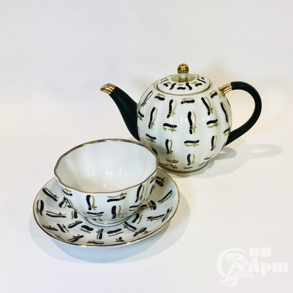"""Сервиз чайный """"Вязанки"""""""