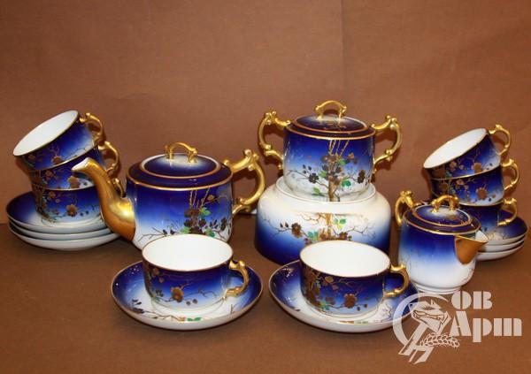 Сервиз чайный (Завод Кузнецова)