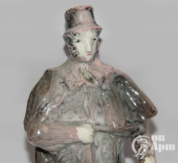 "Скульптура ""А.С. Пушкин"", фаянс, Артамонова"