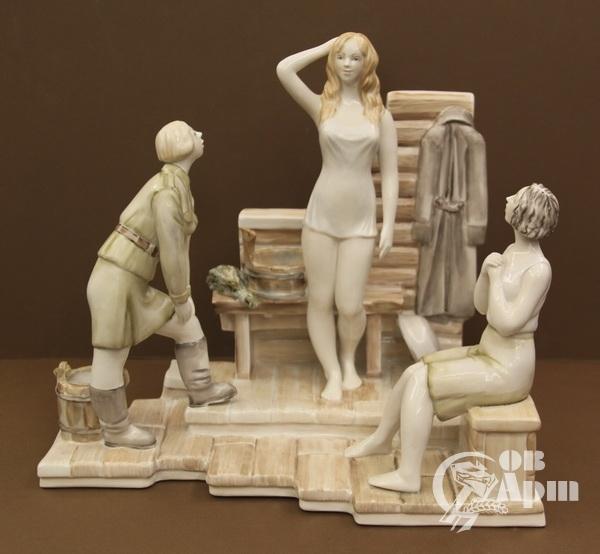 """Скульптура """"...А зори здесь тихие"""""""