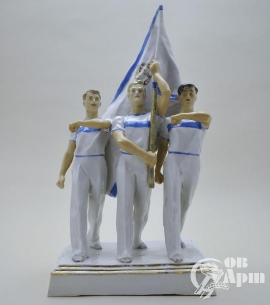 "Скульптура ""Динамовцы"""
