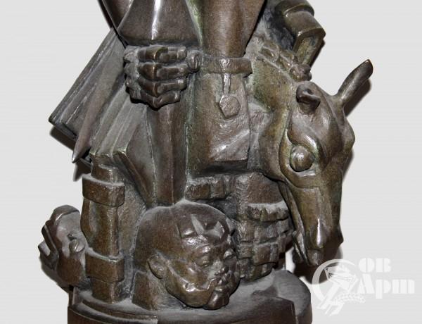 """Скульптура """"Дон Кихот"""""""