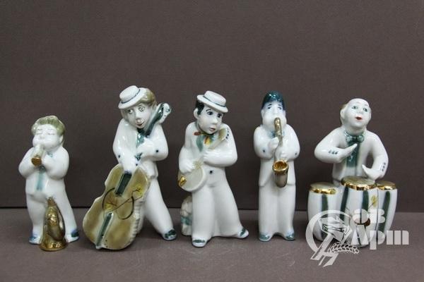 "Скульптура ""Джаз-бенд"""
