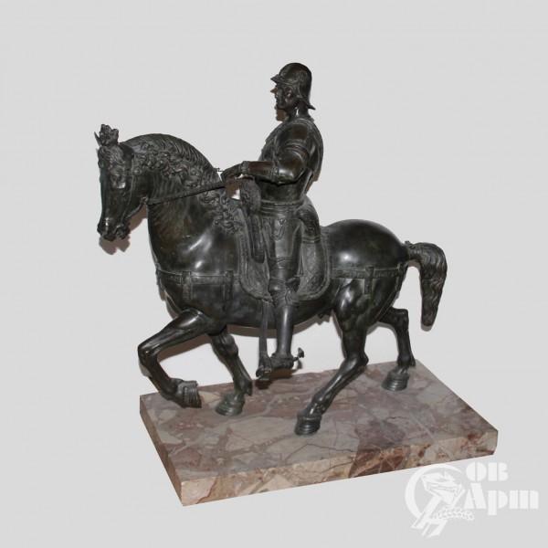 """Скульптура """"Конная статуя кондотьера Бартоломео Коллеони"""""""