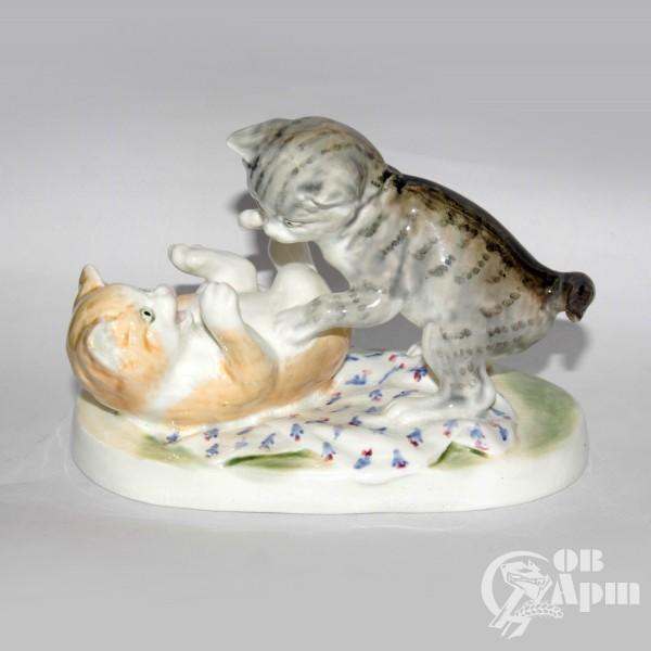 """Скульптура """"Котята"""""""