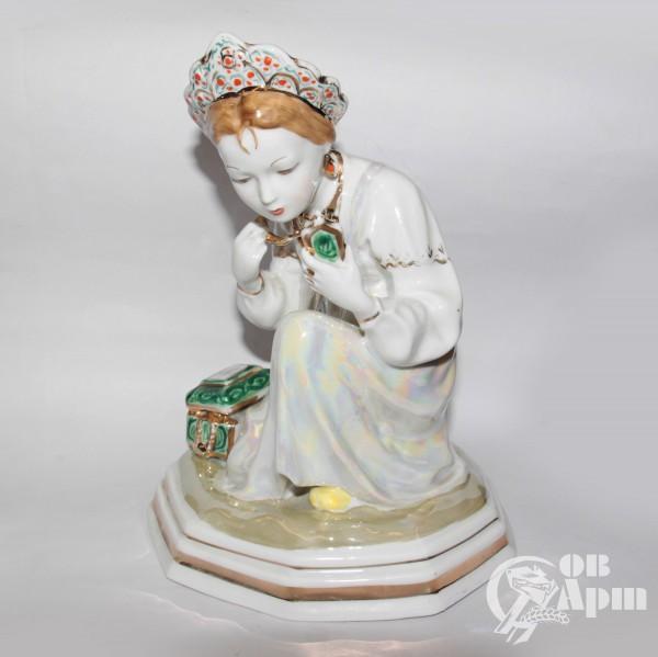 """Скульптура """"Малахитовая шкатулка"""""""