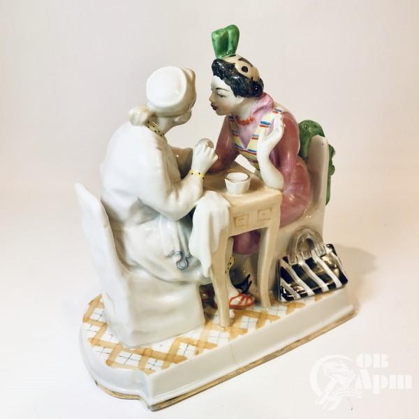 Скульптура «Маникюр»