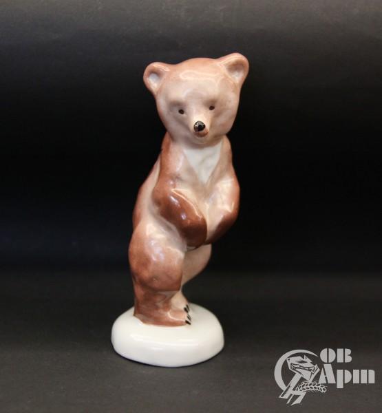 """Скульптура """"Медвежонок стоящий"""""""