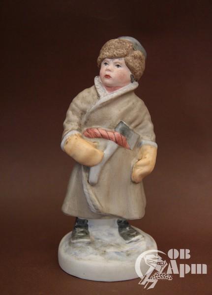 "Скульптура ""Мужичок с ноготок"""