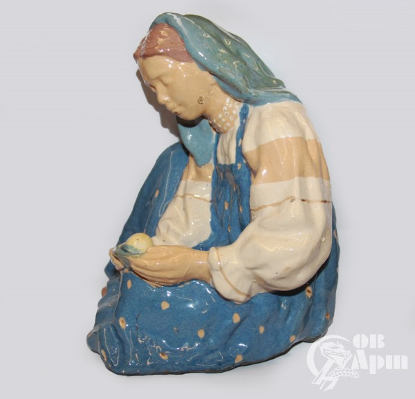 """Скульптура """"Наливное яблочко"""""""