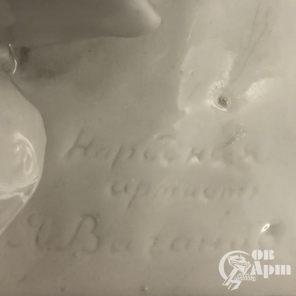 """Скульптура """"Народная артистка А.Я. Ваганова"""""""