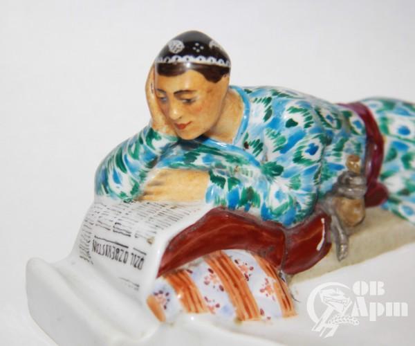 "Скульптура-пепельница ""Узбек"""