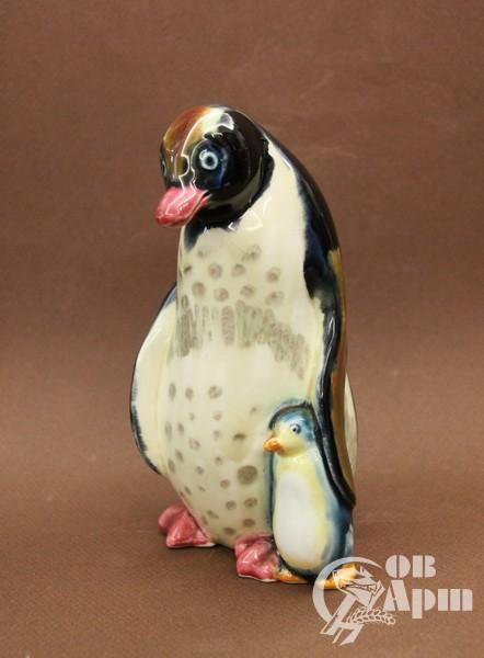 """Скульптура """"Пингвины"""""""