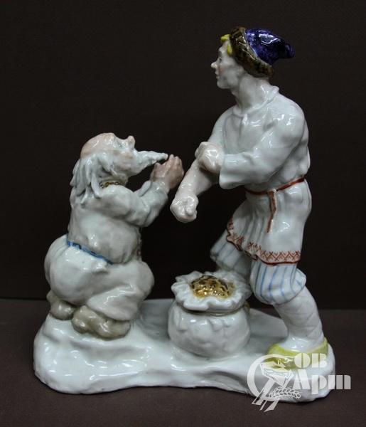 "Скульптура ""Поп и Балда"""