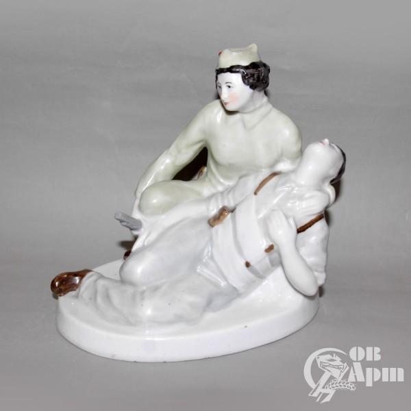 """Скульптура """"Раненый испанский солдат"""""""