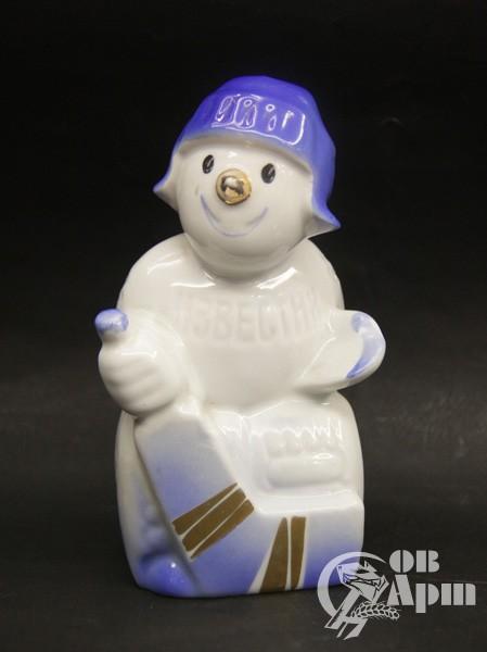 """Скульптура """"Снеговик. Приз Известий"""""""