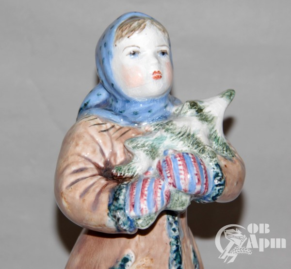 "Скульптура ""Снегурочка"""