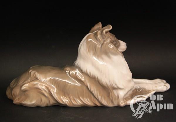 "Скульптура ""Собака породы Колли"""
