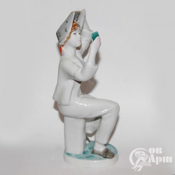 """Скульптура """"Сварщица"""""""