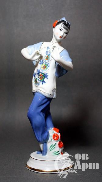 """Скульптура """"Танцущюая китаянка"""""""