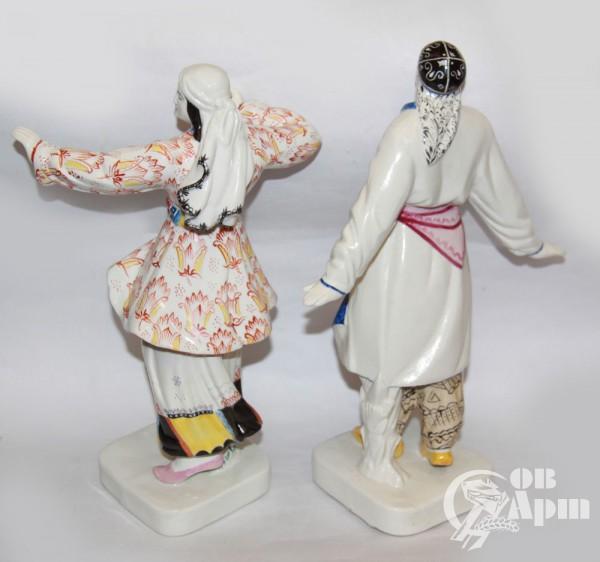 """Скульптура """"Танцующая пара"""", Мануйлова О.М."""