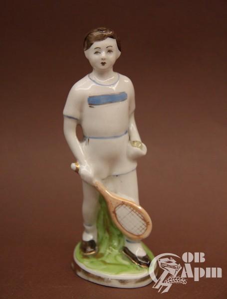 """Скульптура """"Теннисист"""""""